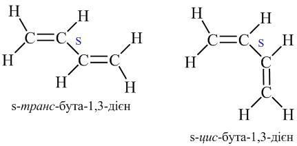 Геометрична ізомерія алкадієнів